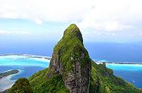 Bora Bora Urlaub - Wanderung zum Mont Otemanu