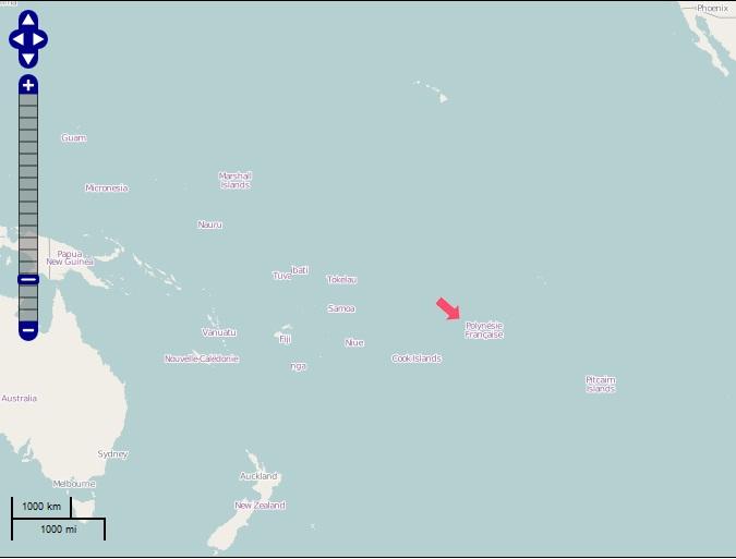 Wo liegt Bora Bora